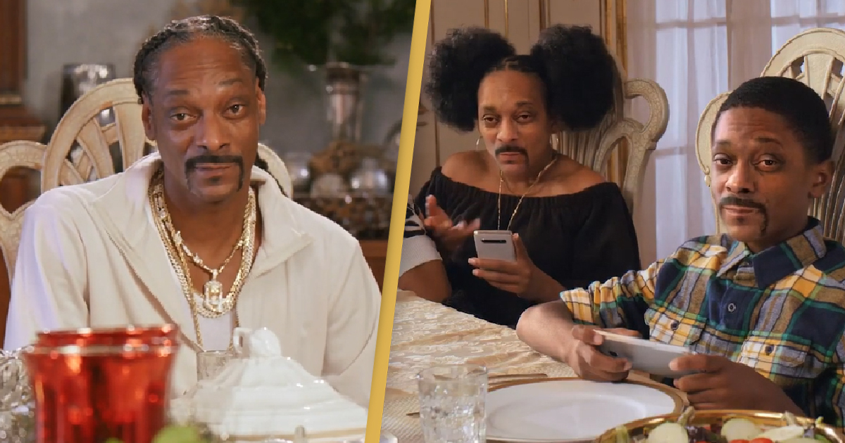 Best Christmas Ads 2020 Snoop Dogg Plays His Own Kids And Saves The PlaIn Best