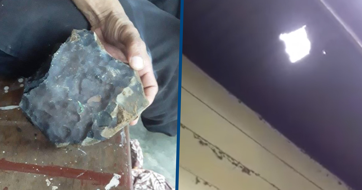 Man Becomes Instant Millionaire When A Meteorite Hits His Home