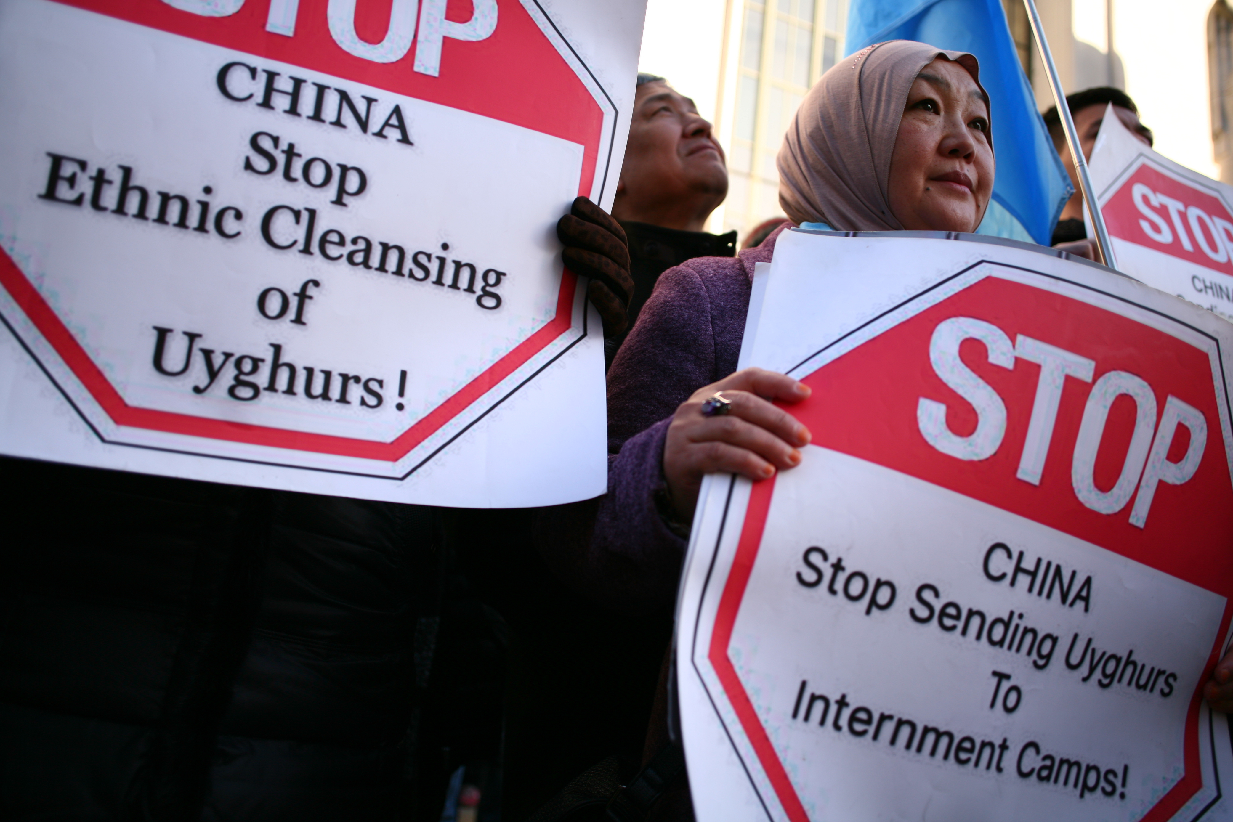 Protest for Uighur rights