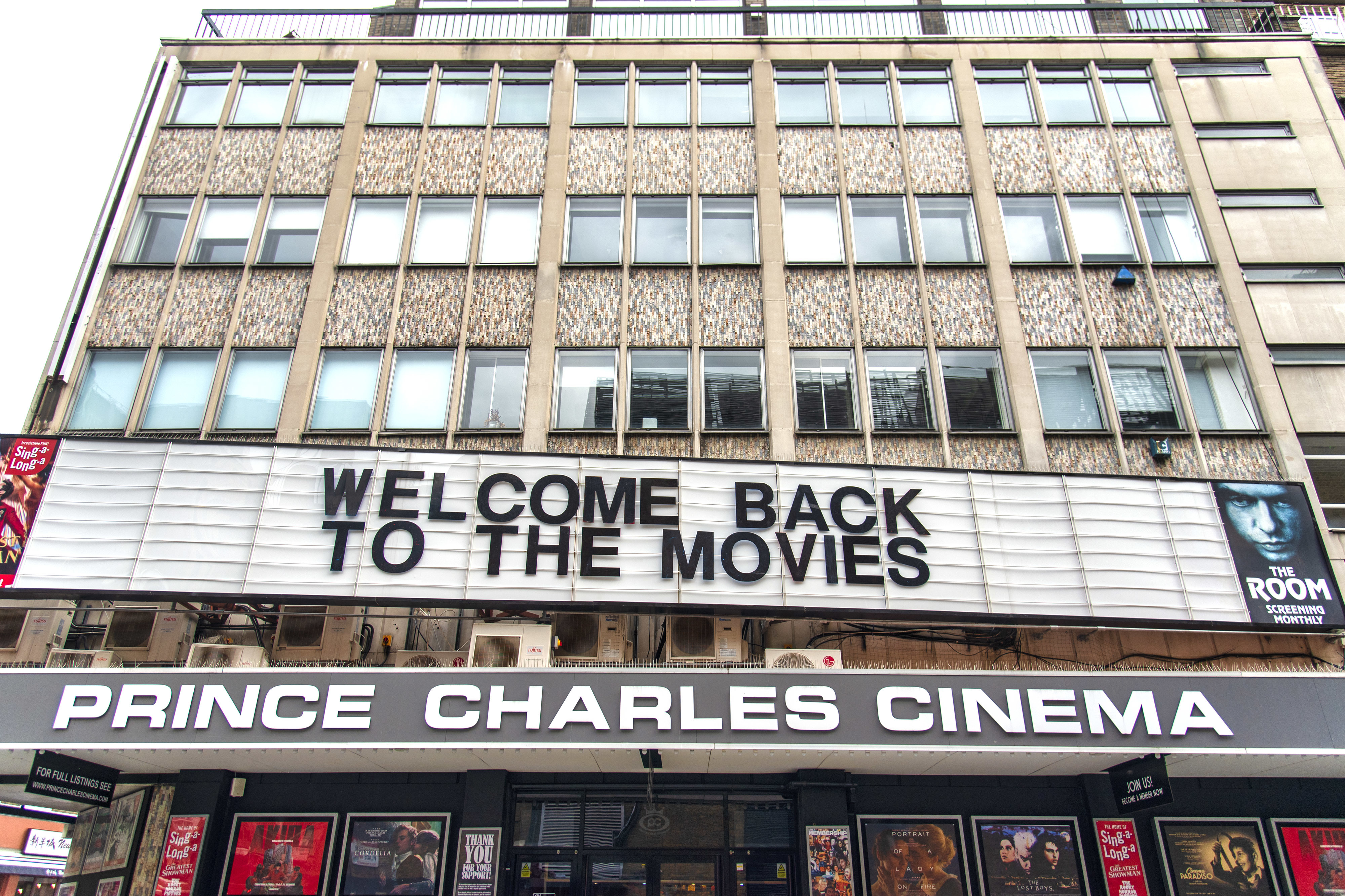 Prince Charles Cinema reopens in London, UK - 19 Oct 2020