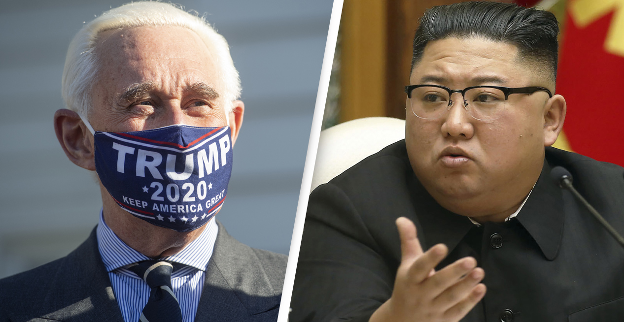 Roger Stone Is Now Saying North Korean Boats Delivered Ballots As Trump Continues Fraud Claims