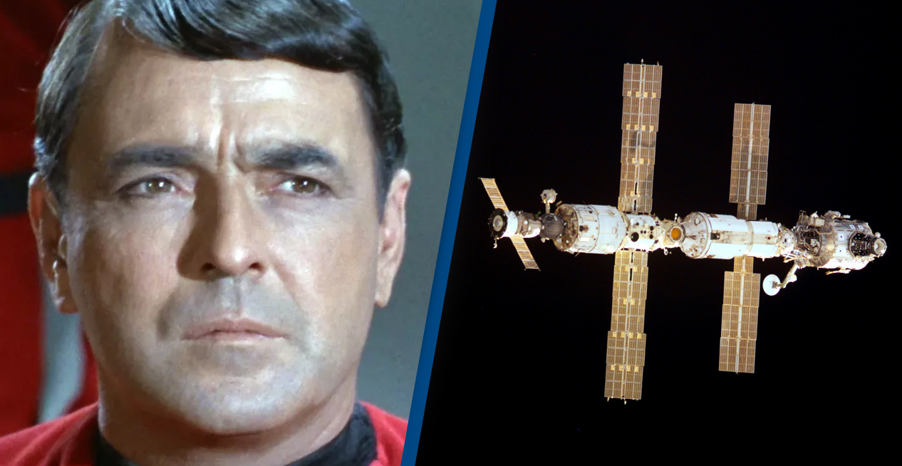 Scotty From Star Trek's Ashes Are Aboard The International Space Station