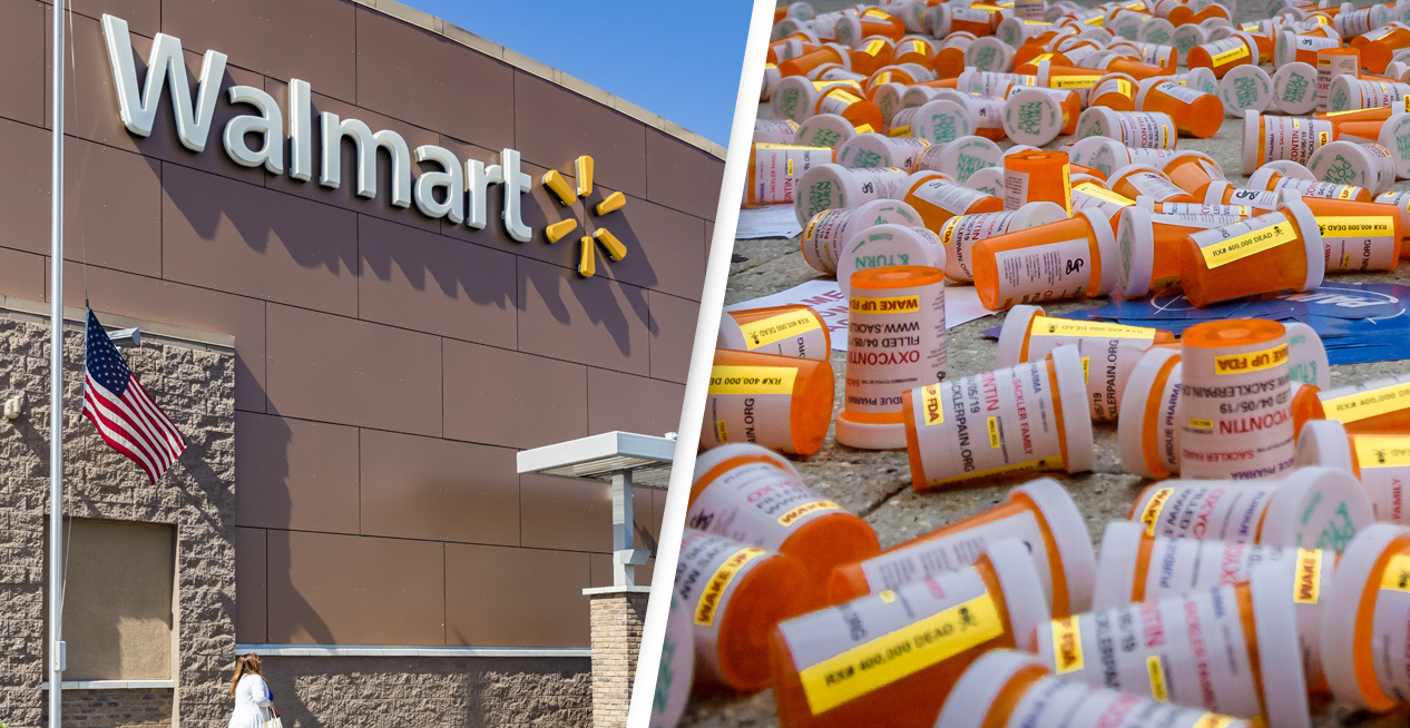 Walmart Sued By US Over Alleged Role In Fueling The Opioid Crisis