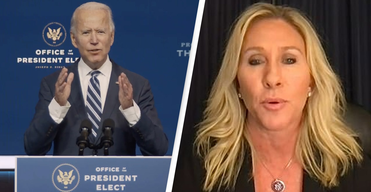 New Republican Representative Says She Plans On Filing Articles Of Impeachment Against Biden