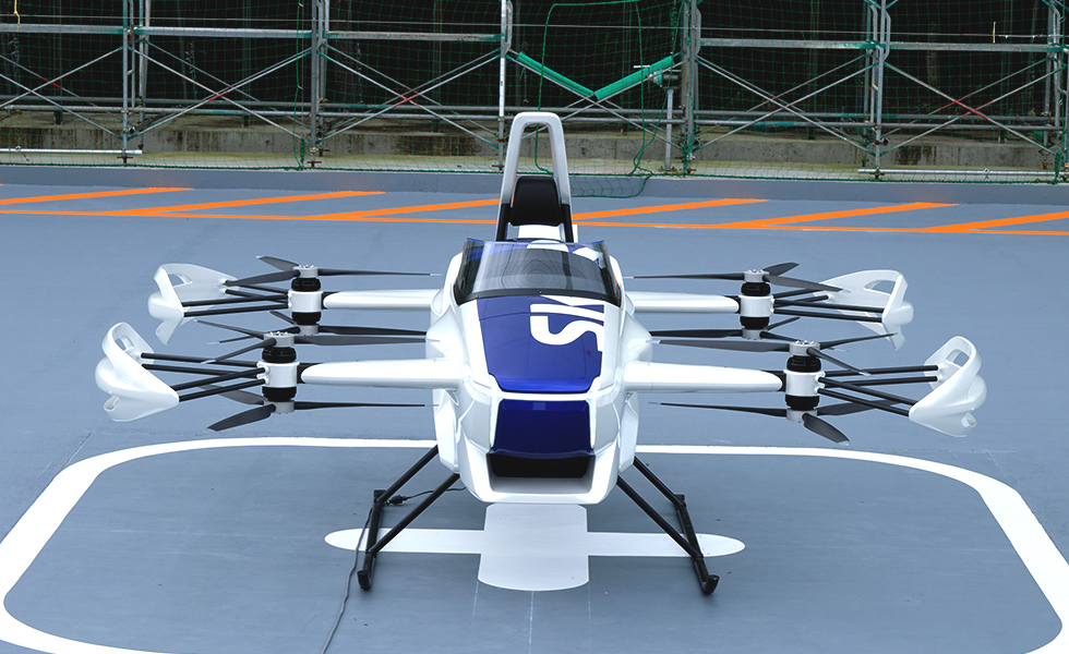 japan to have flying taxi