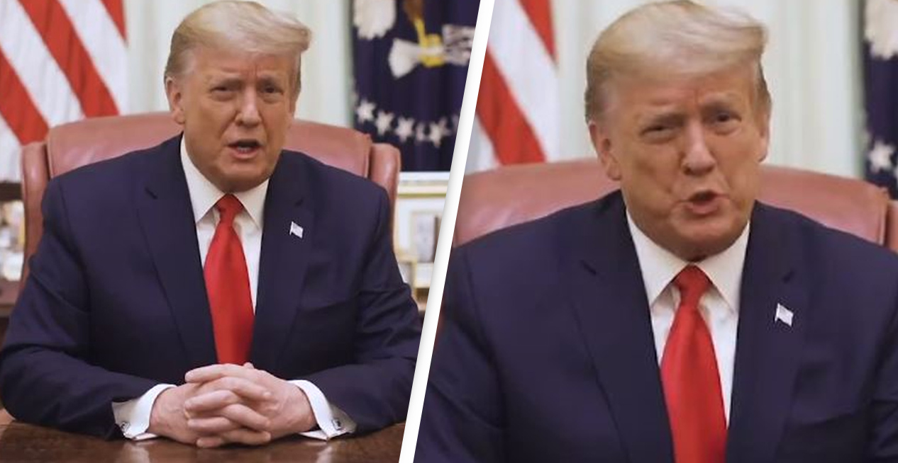 Trump Fails To Acknowledge Impeachment In New Video Condemning Capitol Rioters