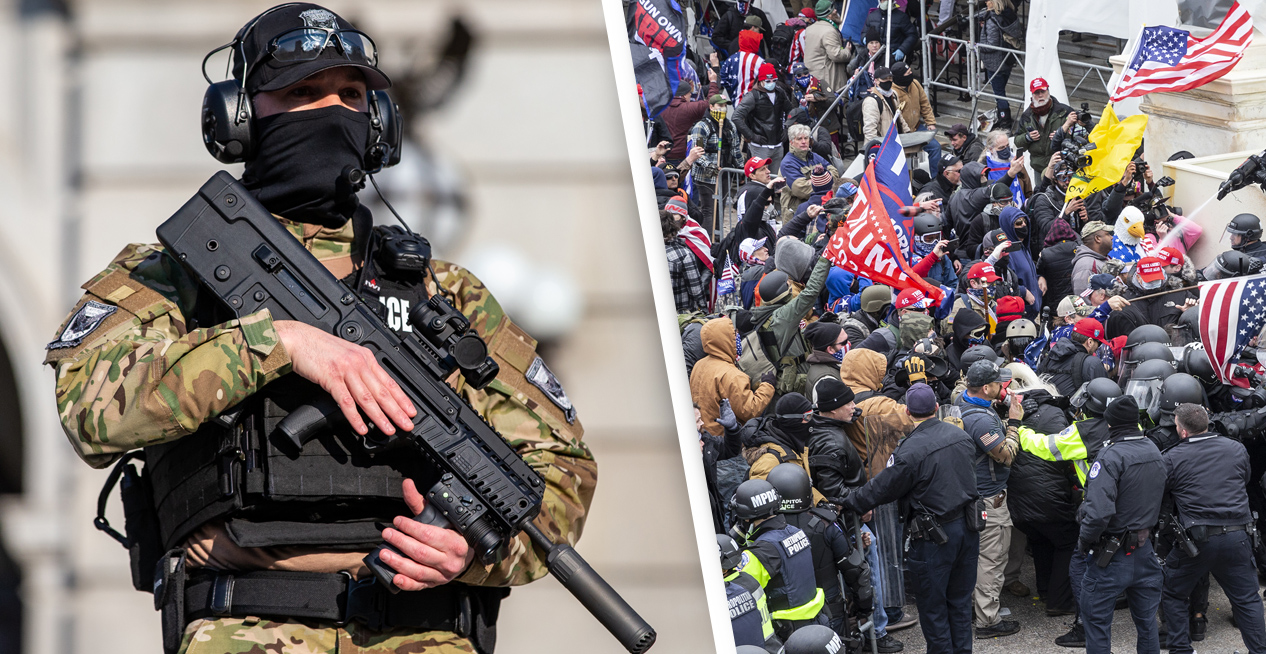 FBI Report Warned Of 'War' At US Capitol One Day Before Riot