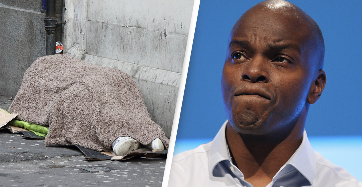Tory Politician Suggests Homeless People Could 'Save For Mortgage Deposits' Using Benefits