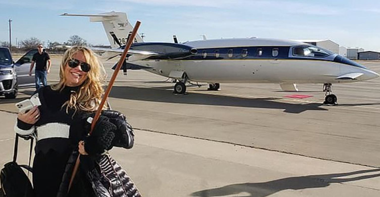 Capitol Rioter Who Took Private Jet Now Asking For Donations To Cover Legal Fees