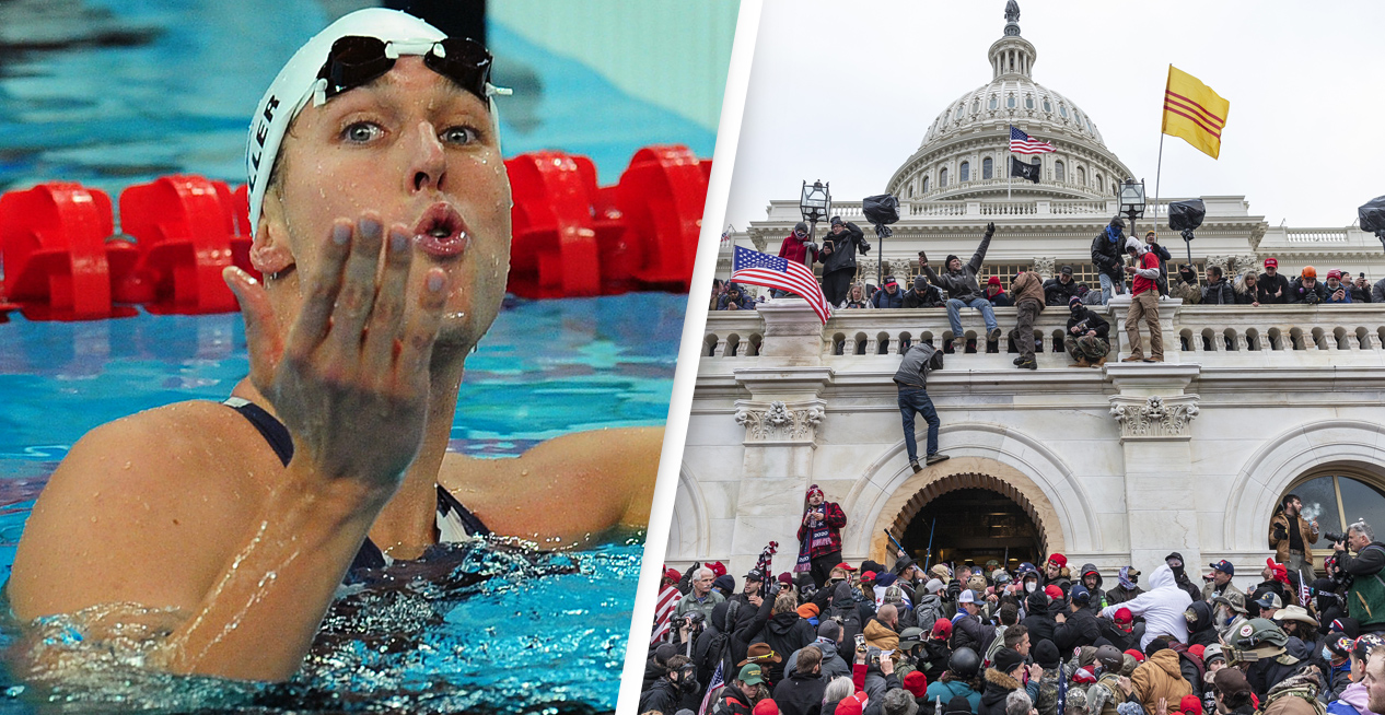 Olympic Gold Medallist Allegedly Stormed Capitol In Team USA Jacket