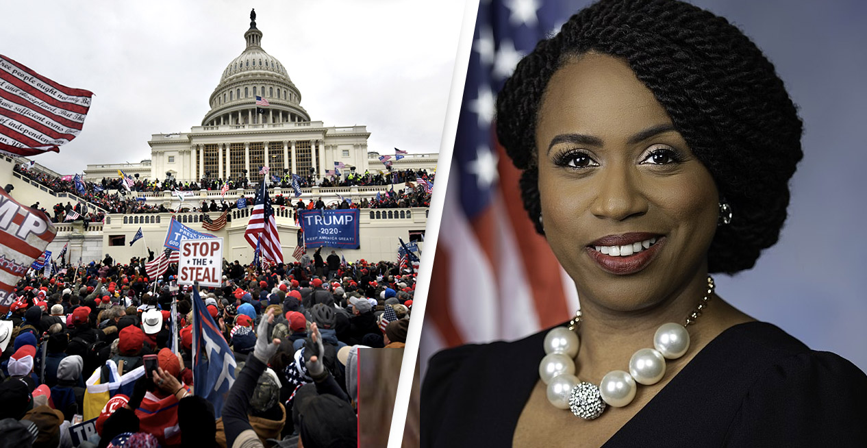 Congresswoman Says Panic Buttons Were Removed From Her Office Before Riot