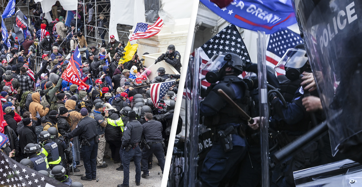 US Capitol Police Officer Dies Of Injuries Sustained During Riots