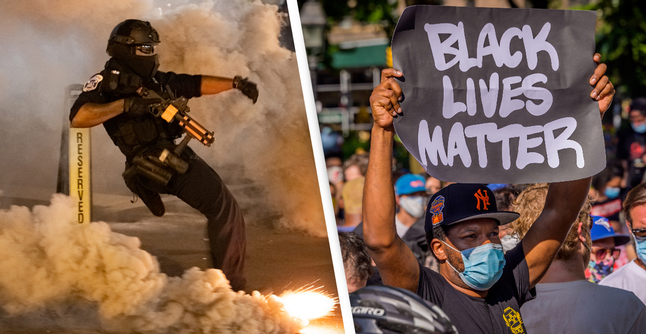 US Police Three Times As Likely To Use Force Against Leftwing Protesters, Study Finds
