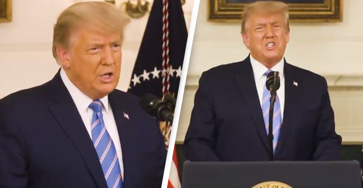 Trump Finally Concedes Election In New Video Condemning Rioters