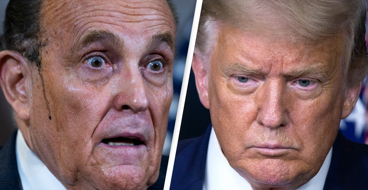 Donald Trump Has Instructed His Staff Not To Pay Rudy Giuliani's Legal Fees