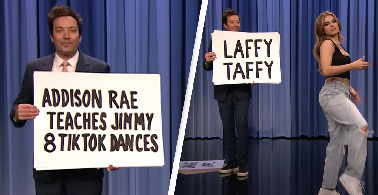 Jimmy Fallon Responds After Not Properly Crediting TikTok Dancers In Addison Rae Segment