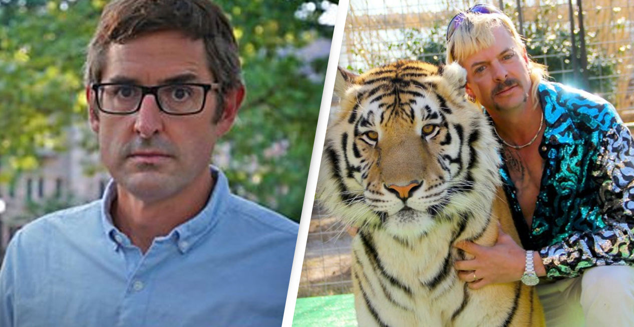 Louis Theroux Was Banned From Talking To Tiger King Stars By Producers Who Threatened To Sue For Millions