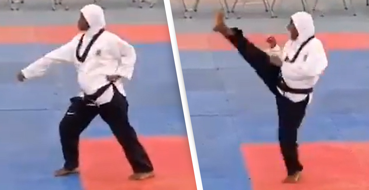 Eight Months Pregnant Athlete Wins Taekwondo Gold Medal In Astonishing Video
