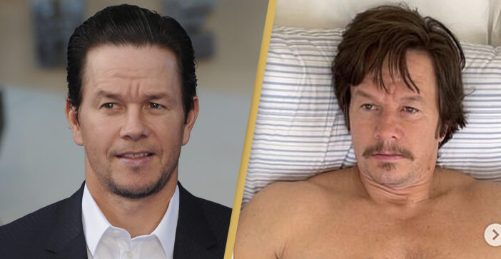 Mark Wahlberg Shows Off 'Dad Bod' After Putting On As Much Weight As Possible For New Film