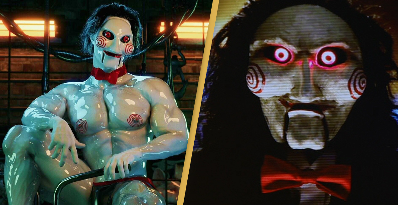 Saw's Official Twitter Account 'Hacked' To Show Totally Shredded Jigsaw On A Tricycle