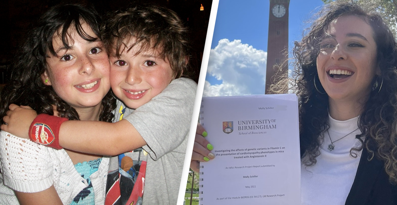 Masters Student Submits Dissertation On Heart Condition That Caused Her Brother's Death
