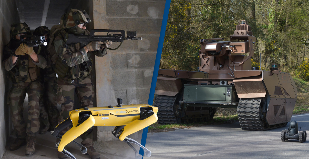 boston dynamics and tank in france