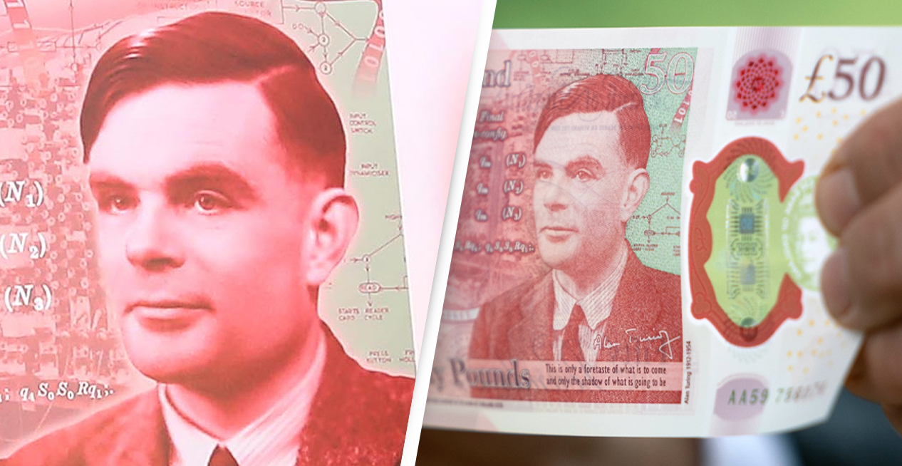 Alan Turing, World War Two Codebreaker, To Feature On £50 Note From Today