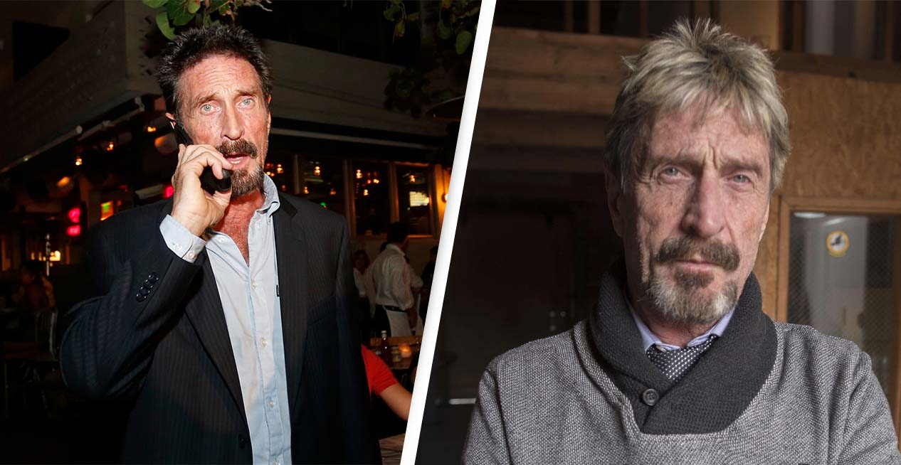 John McAfee's Instagram Mysteriously Deleted After Cryptic Post Went Out Following His Death