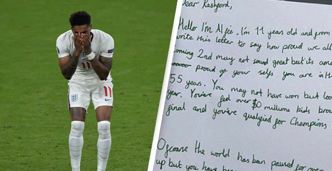 Marcus Rashford 'Lost For Words' After Receiving Thousands Of Letters From Children