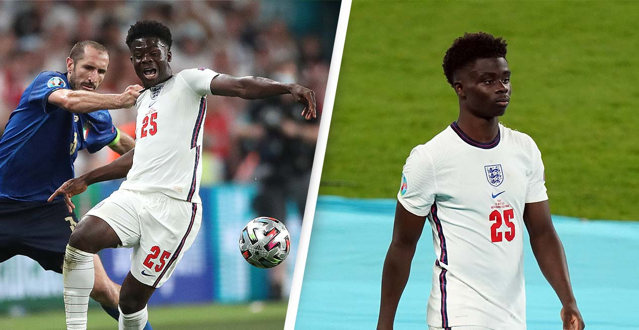 Outrage After Bukayo Saka's Instagram Is Flooded With Racist Abuse