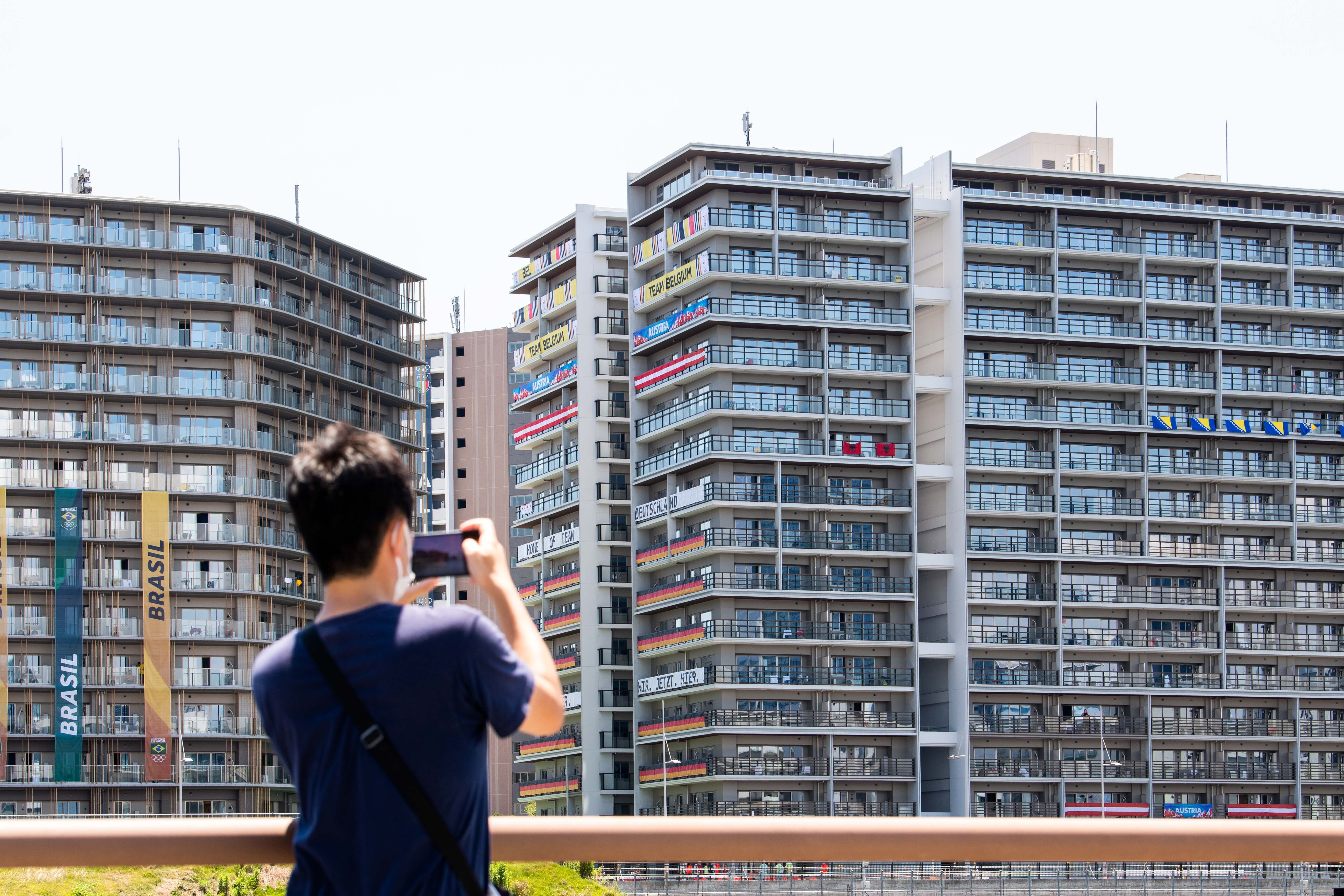 The Olympic village in Tokyo. (PA Images)