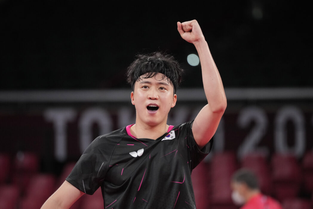 South Korean table tennis player Jeoung Young-sik (PA Images)