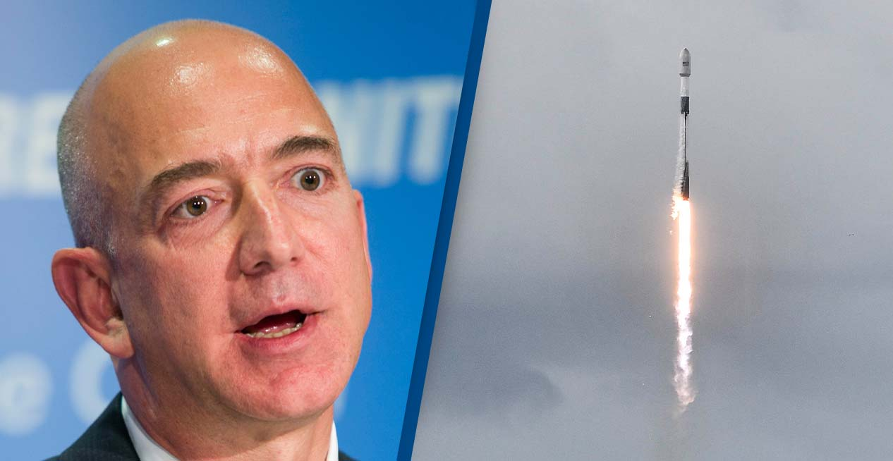 Jeff Bezos Petition For Him Not To Return From Space Hits 150,000 Goal