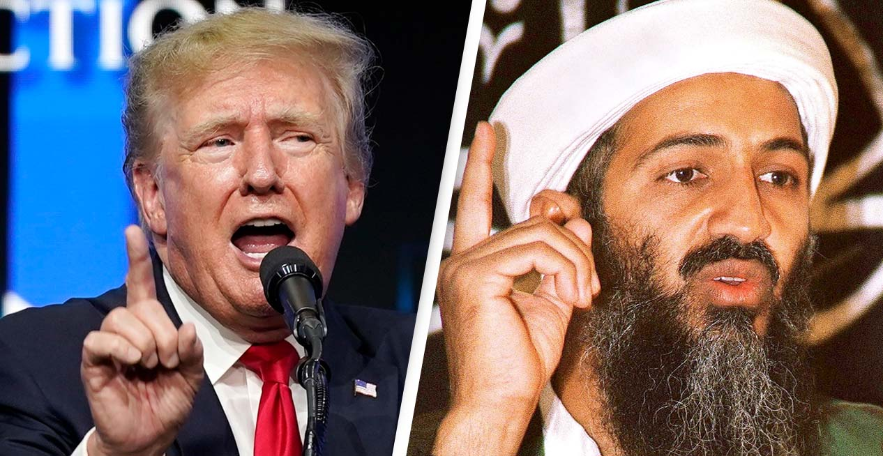 Donald Trump Compared To Bin Laden Over US Capitol Riots