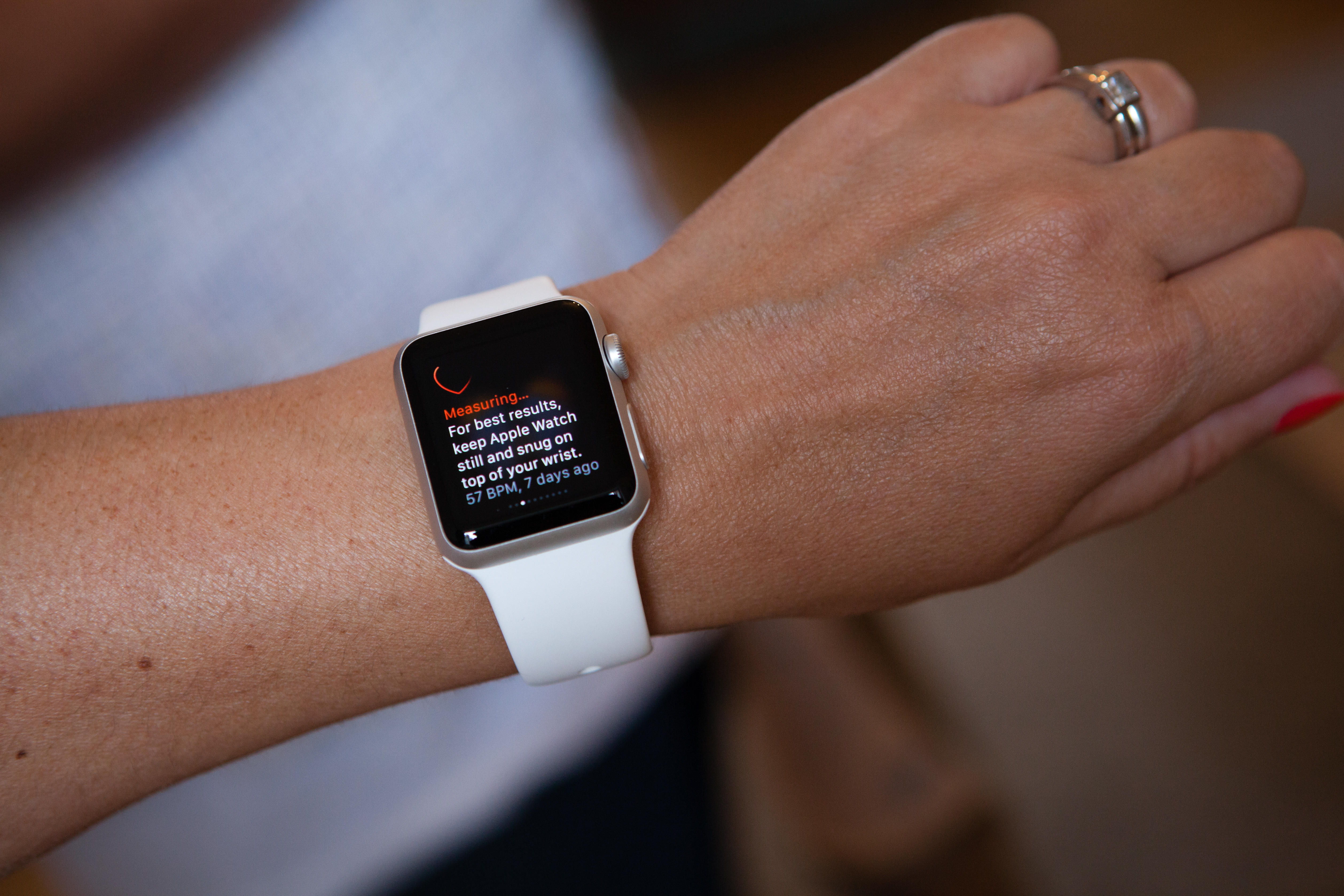 Apple is working on new technology for its smartwatches. (Alamy)