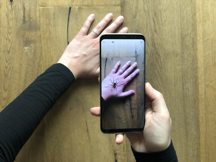 Augmented Reality App Developed To Help People's Fear Of Spiders (University of Basel, MCN)