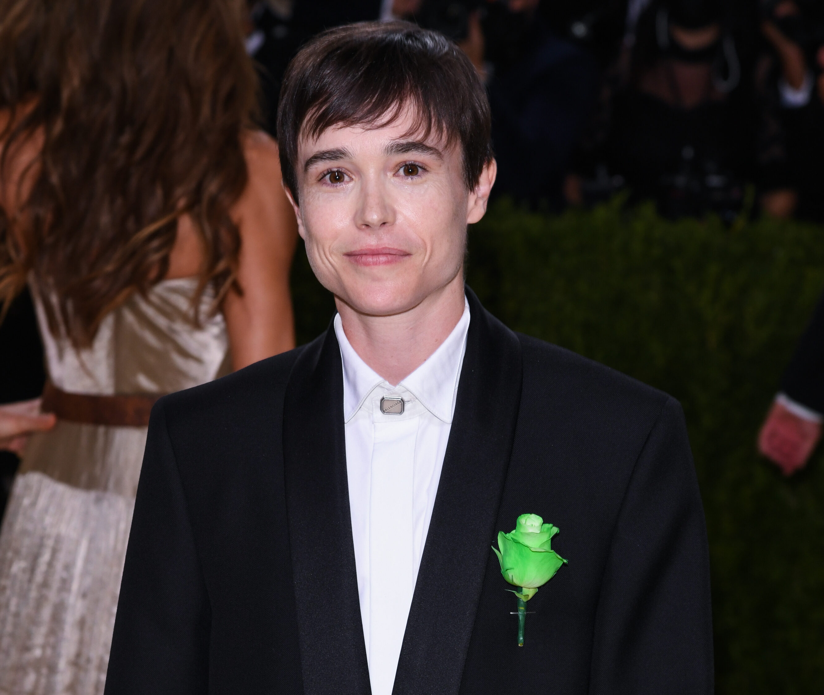 Elliot Page at the Met Gala (PA Images)