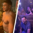 Tommy Fury Dances Shirtless In Front Of Rabid Crowd Of Students In Bizarre Video